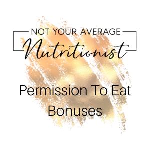 Permission To Eat Bonuses